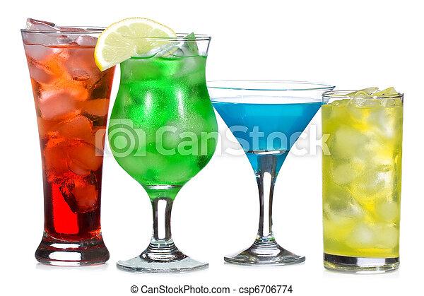 cócteles, alcohol - csp6706774
