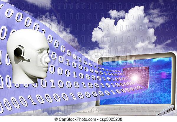 Código binario - csp5025208
