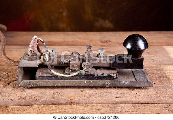 código, telégrafo, morse - csp3724206