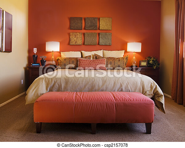 Una habitación cómoda - csp2157078