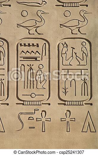c, 古代, エジプトのピラミッド, ホテル, 細部, レプリカ, ルクソール - csp25241307
