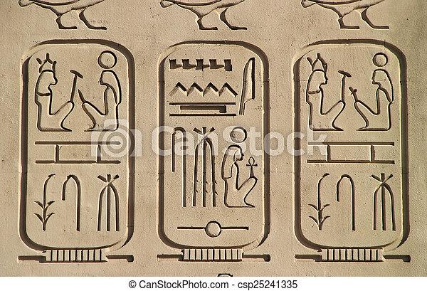c, 古代, エジプトのピラミッド, ホテル, 細部, レプリカ, ルクソール - csp25241335
