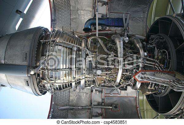 C-17 Military Aircraft Engine