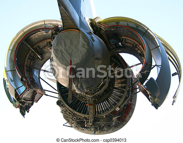 C-17 Military Aircraft Engine - csp0394013