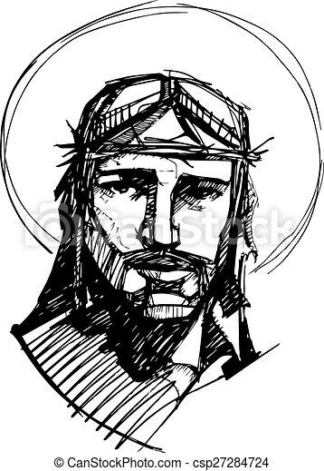 c, hans, passion, jesus - csp27284724