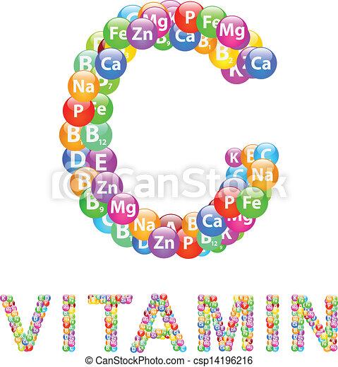 c, vitamina - csp14196216
