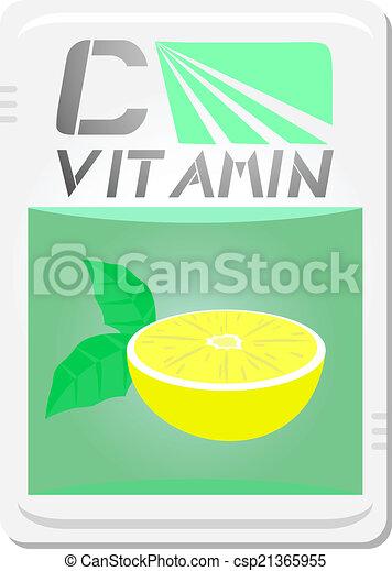 c, vitamina - csp21365955