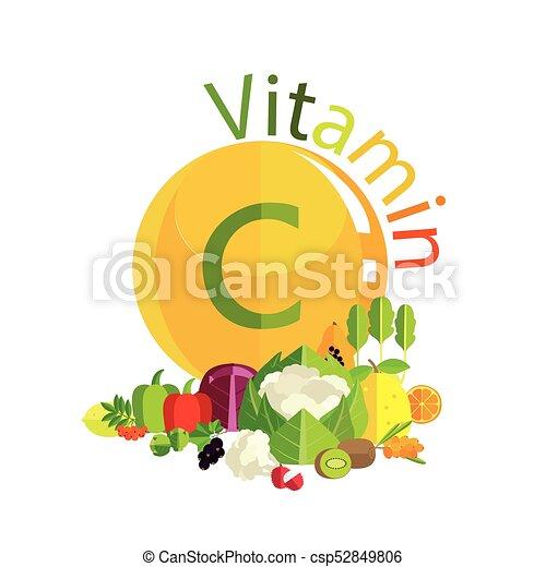 c, vitamina - csp52849806