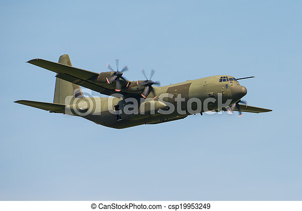 C130 Hercules transport aircraft - csp19953249