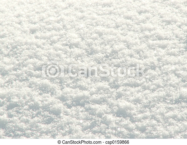 caído, neve, freshly - csp0159866