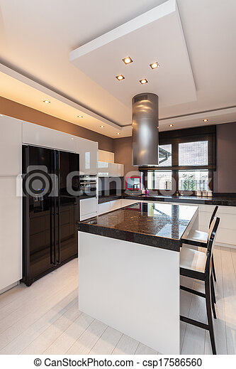 Casa de campo Vibrant - cocina - csp17586560