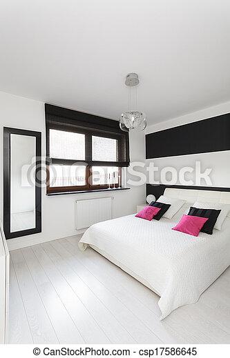 Casa de campo, dormitorio - csp17586645