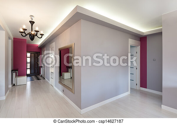 Cabaña Vibrant, pasillo - csp14627187
