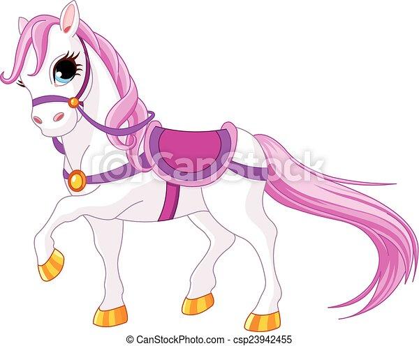 Caballo princesa - csp23942455