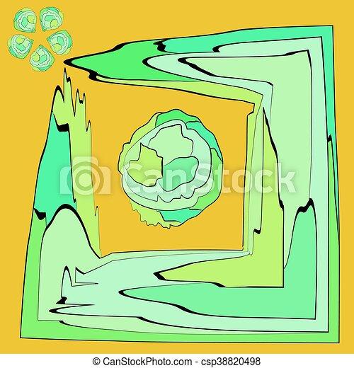 Cabbage. - csp38820498