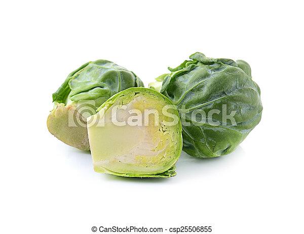cabbage on white background - csp25506855