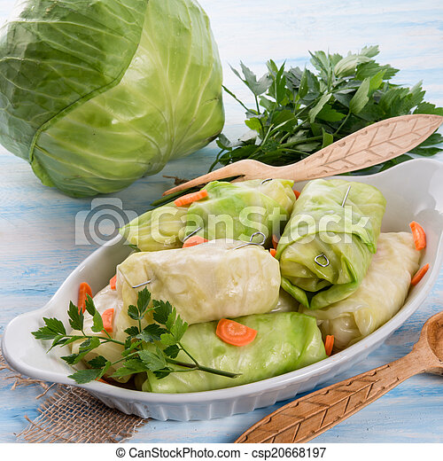 Cabbage roll - csp20668197