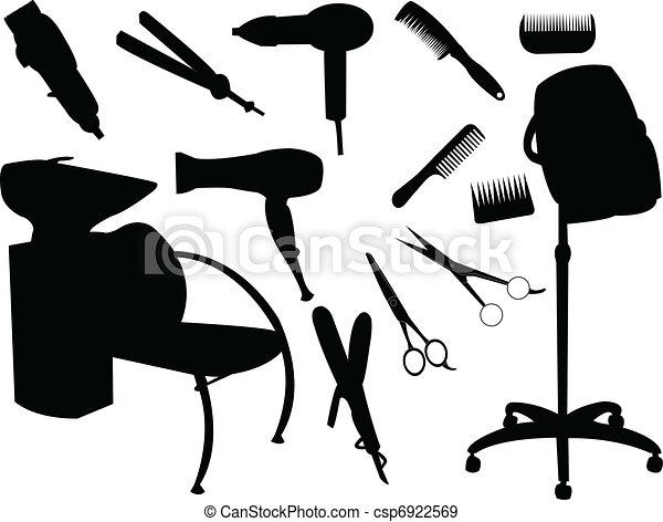 cabelo, equipamento - csp6922569