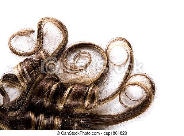 cabelo, longo - csp1861820