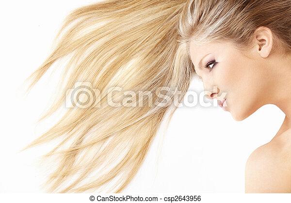 cabelo, ondas - csp2643956