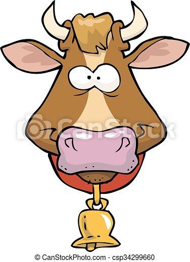 Cabeza de vaca - csp34299660