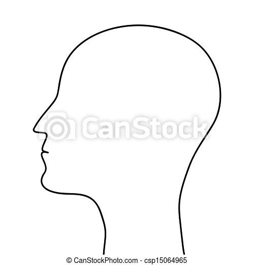 File Stick Figure likewise Black and white brain in addition Head Outline Template together with Sheep Silhouette 6 likewise Strangles And The Things That People Think And Do. on human head clip art