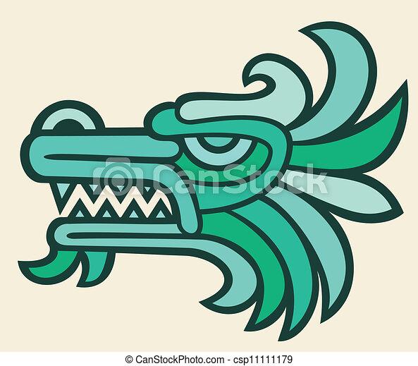 Cabeza de dragón - csp11111179