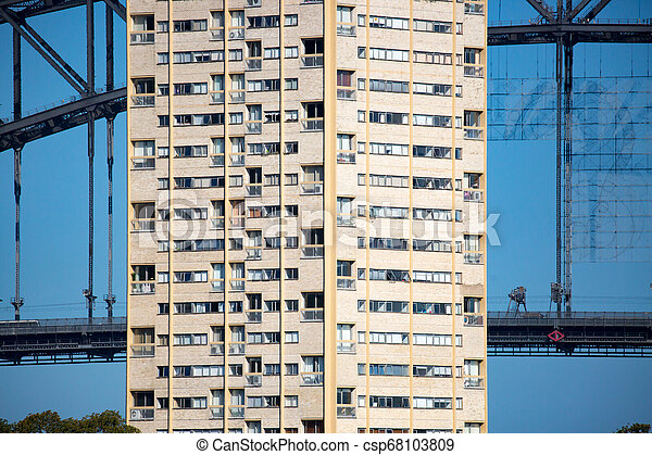 Apartamentos de Sydney de la reserva de pelotas - csp68103809