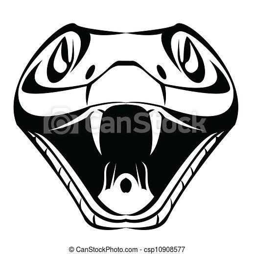 Cabeza de serpiente - csp10908577