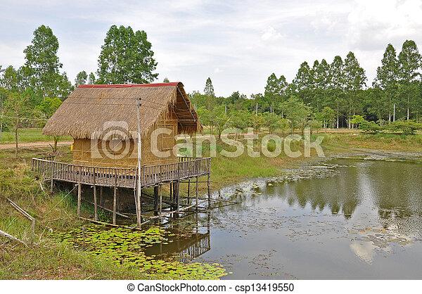 Cabin - csp13419550