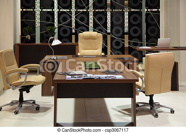 Cabinet of boss - csp3067117