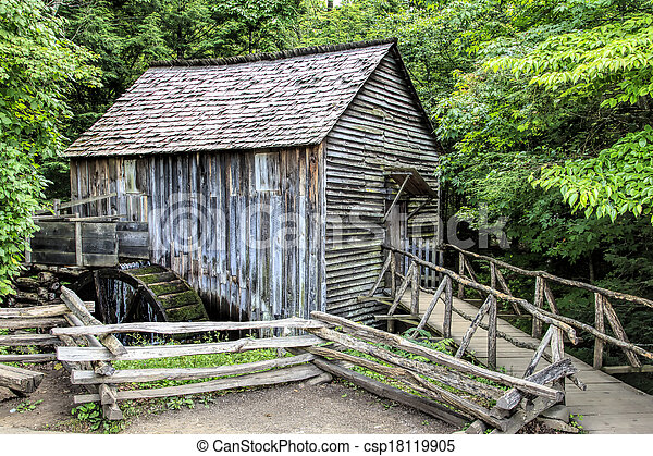 Cable Mill at Cades Cove - csp18119905