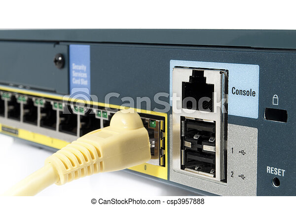 Cable plugged in - csp3957888