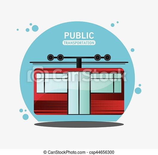 cable railway public transport - csp44656300