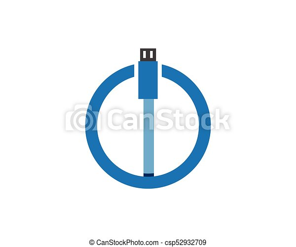 Cable wire computer and plug icons set vector clipart - Search ...
