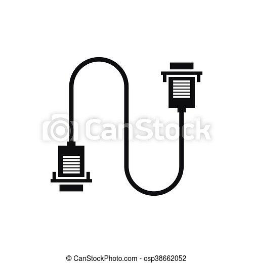 Niedlich Computer Kabel Clipart Galerie - Elektrische ...
