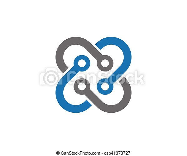 Cable Wires Wiring Logo Template Vector Icon