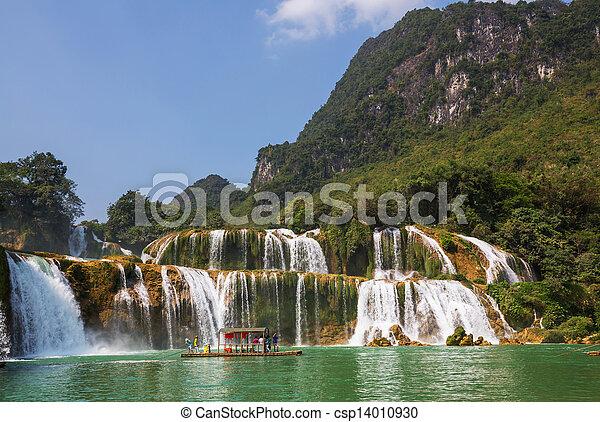 cachoeira, vietnã - csp14010930