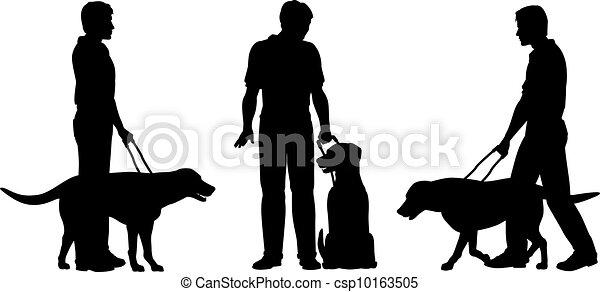 cachorro guia - csp10163505