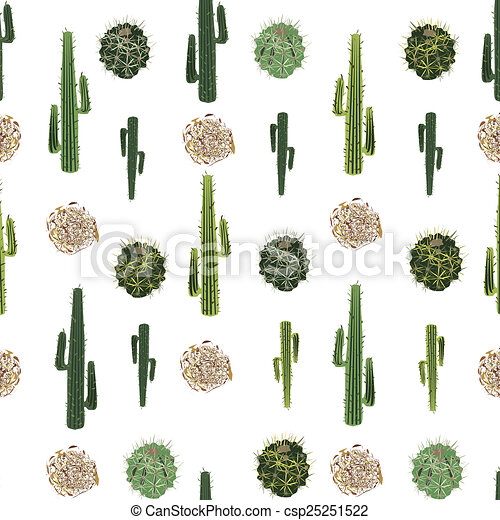 cacti and tumbleweed seamless pattern an illustration of tumbleweed clipart vector image Tumbleweed Cartoon