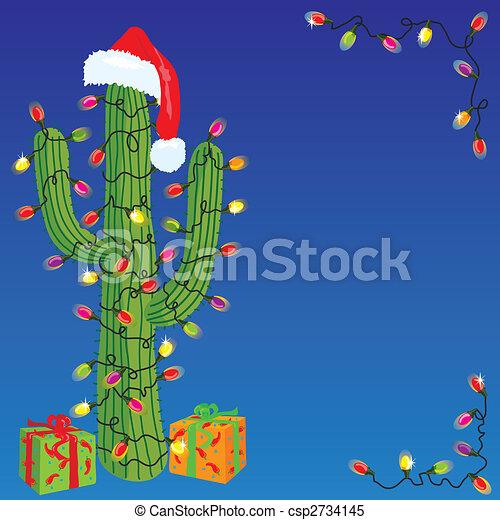 Cactus de Navidad - csp2734145