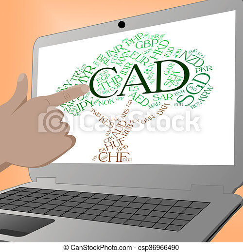 Cad Currency Indicates Forex Trading And Currencies Cad Currency