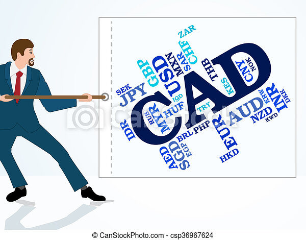 cad currency represents canadian dollar and canada cad clip art rh canstockphoto com