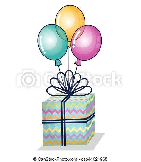 cadeau anniversaire ballon