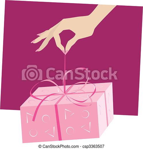 cadeau - csp3363507