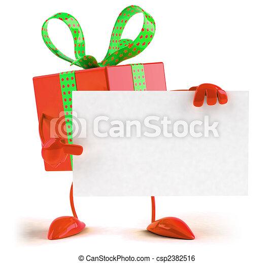 cadeau - csp2382516