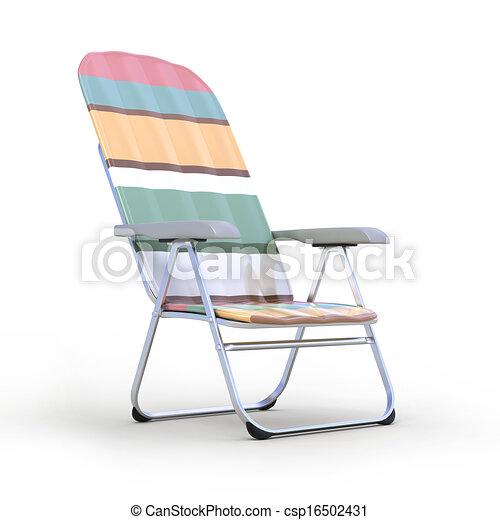 cadeira, relaxamento - csp16502431