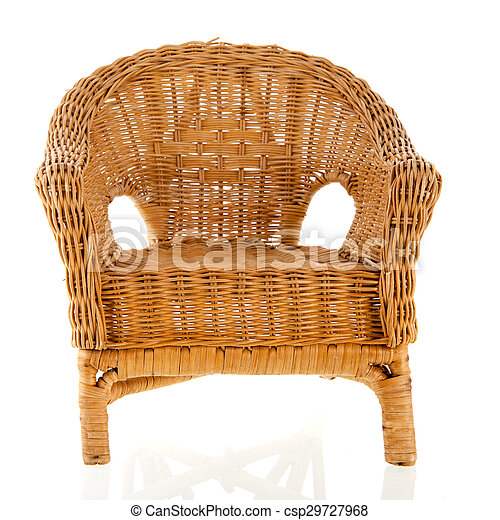 cadeira wicker - csp29727968