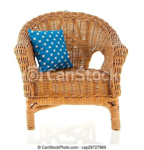 cadeira wicker - csp29727969