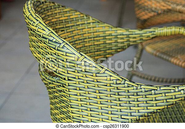 cadeira wicker - csp26311900